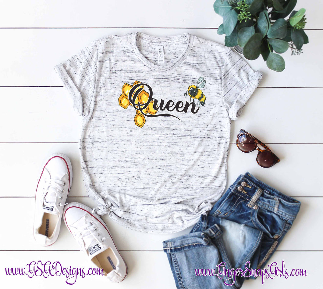 Queen Bee Sublimation Transfers