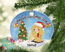 Load image into Gallery viewer, Christmas Princesses Personalized Sublimation Transfers
