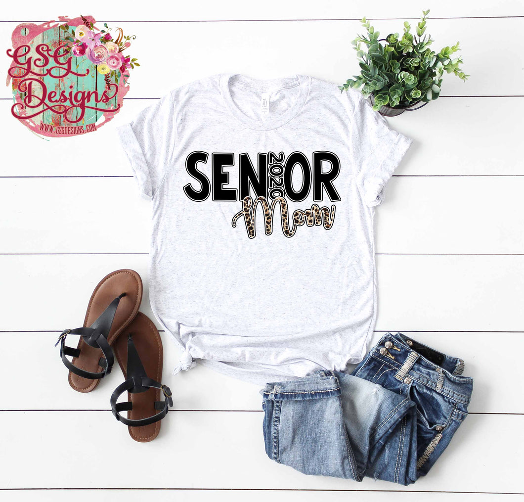 Senior Mom 2020 Leopard Digital Design File .png