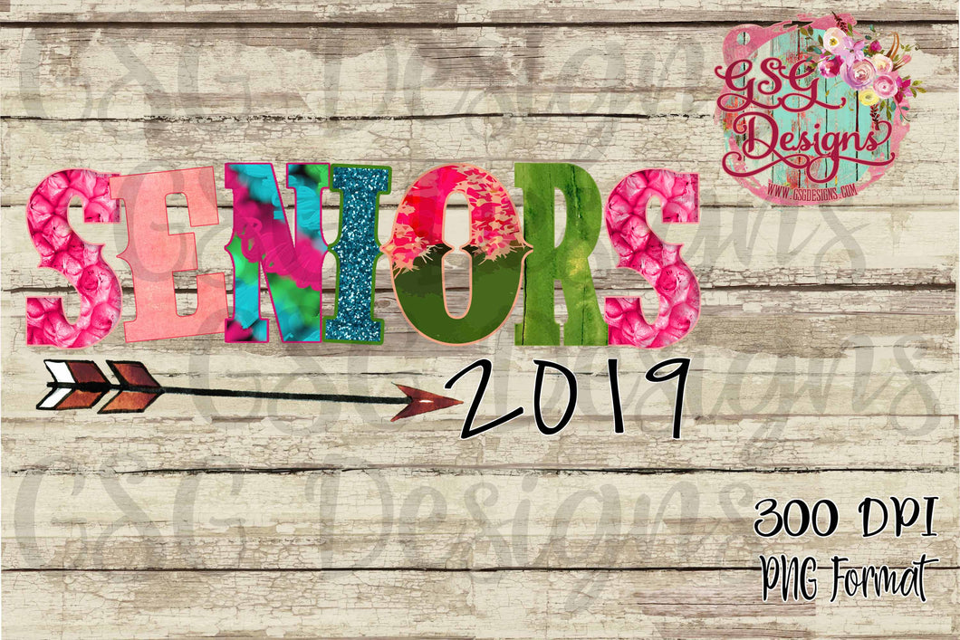 Seniors Funky Boho 2019 Sublimation Transfers