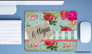 Custom Shabby Chic Roses Sublimation Design File