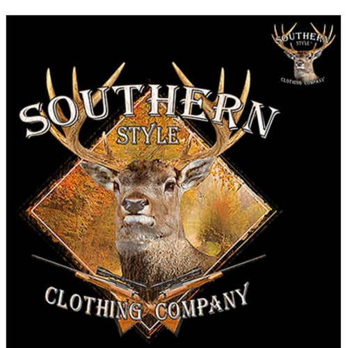 Southern Style Brand Buck Screen Print High Heat Transfers - RTS