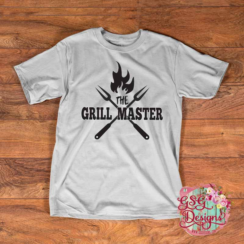 The Grill Master Digital Design File PNG