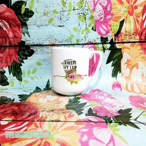 This is My Cup of Sass  Sublimation Transfers