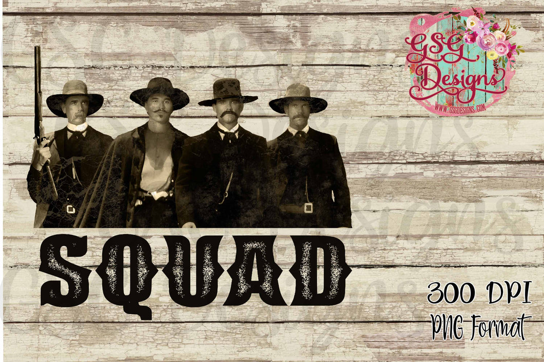 photograph relating to Tombstone Printable titled Tombstone Squad Printable and Sublimation Electronic Style and design History PNG