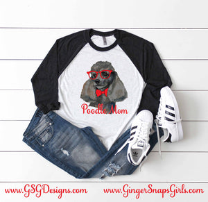 Toy Poodle Mom Sublimation Transfers