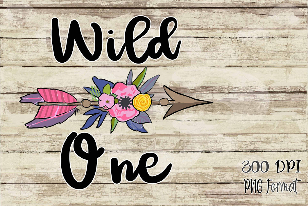 Wild One First Birthday Sublimation Transfers