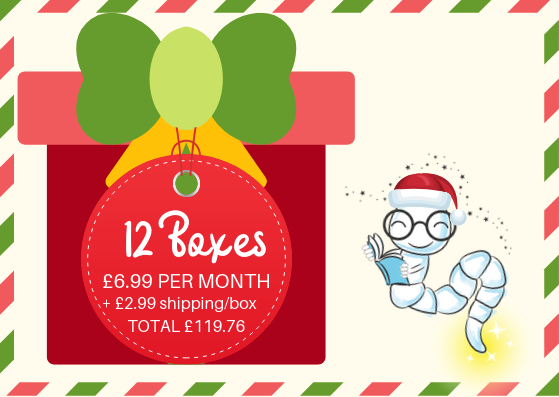 Pre-order Christmas Edition - 12 month gift subscription (inc.shipping)
