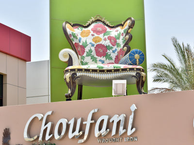 Choufani Chair Featured at Gulf News UAE