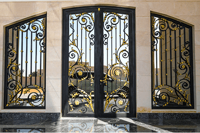 Why choose a wrought iron door in the UAE ?