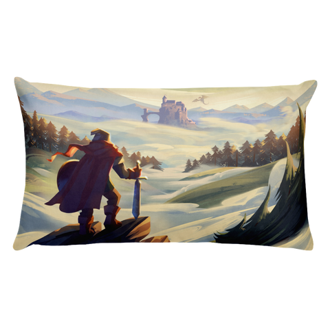 The Start Of An Adventure Pillow