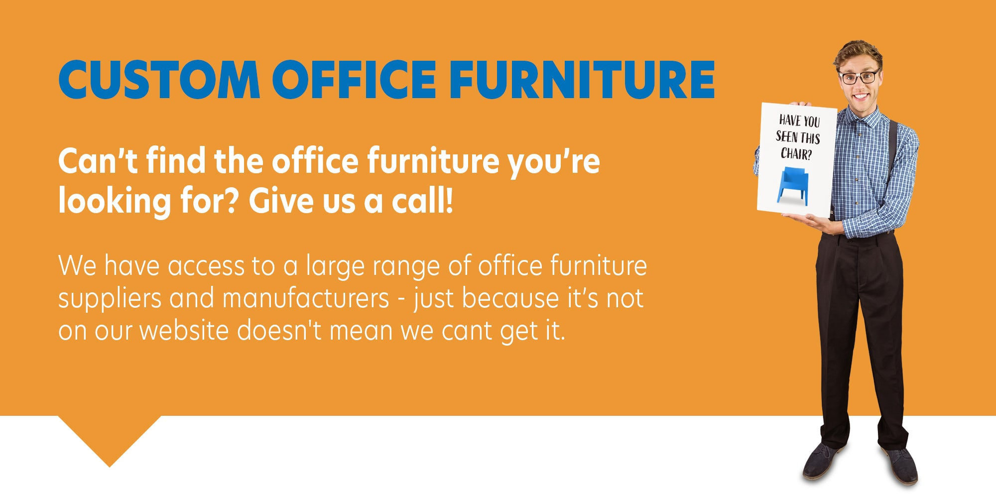 custom made furniture from office furniture warehouse