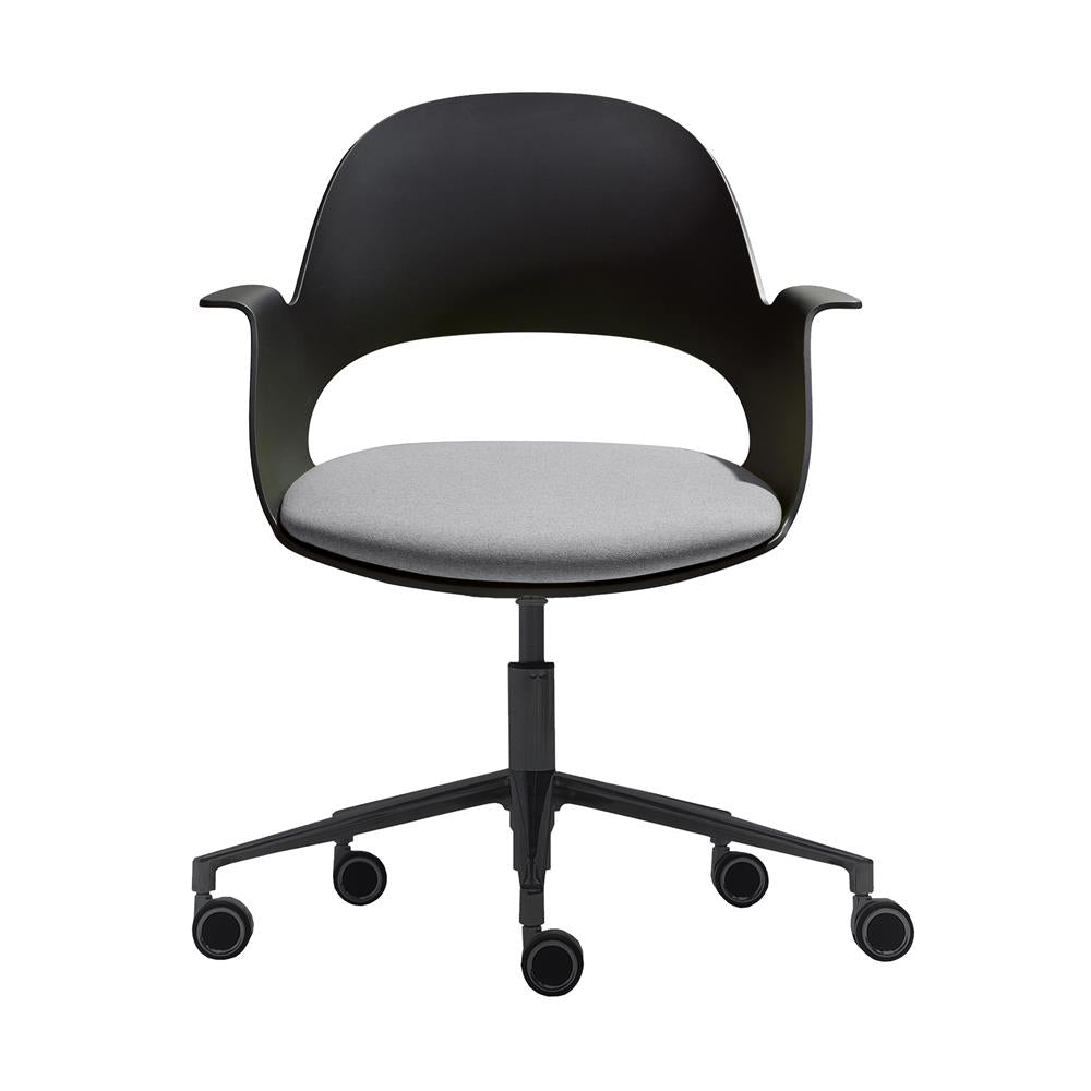 Mobel Alava Chair with Wheeled Black Base