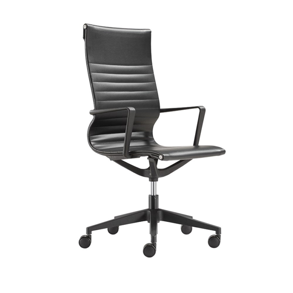 Buro Diablo Highback Black Office Chair