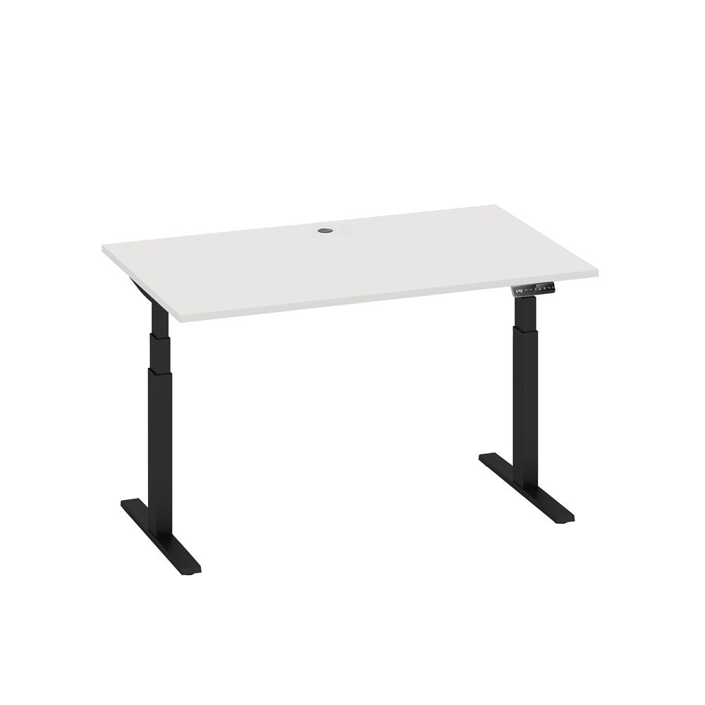Mobel Enhance Electric Height Adjustable Desk – Black / White