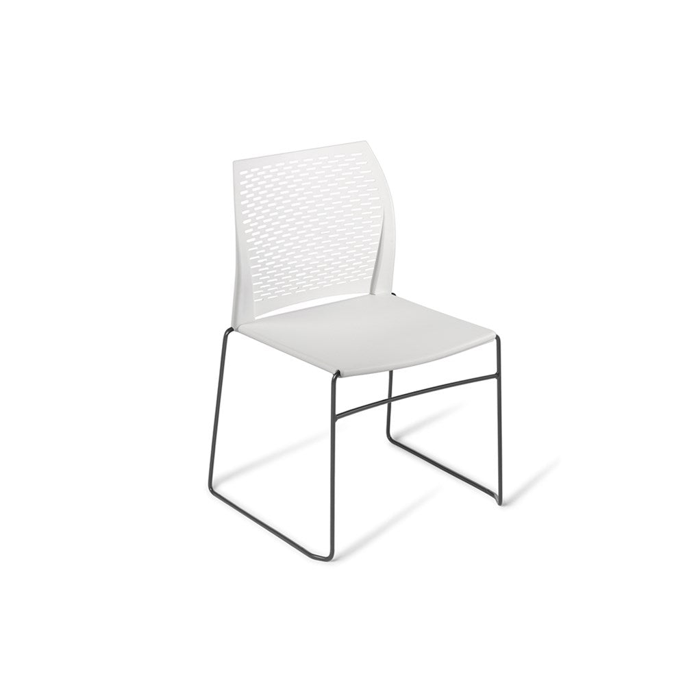 Net Black Frame Café Chair