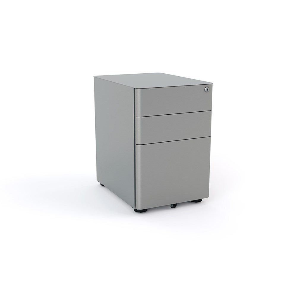 Agile Metal 2-Drawer and File Mobile Storage Unit