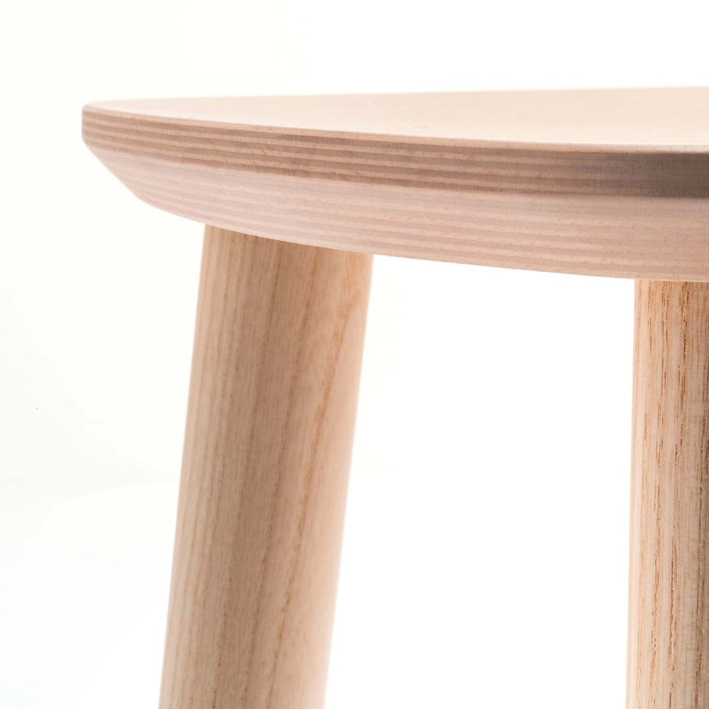 Babila Timber Low Stool
