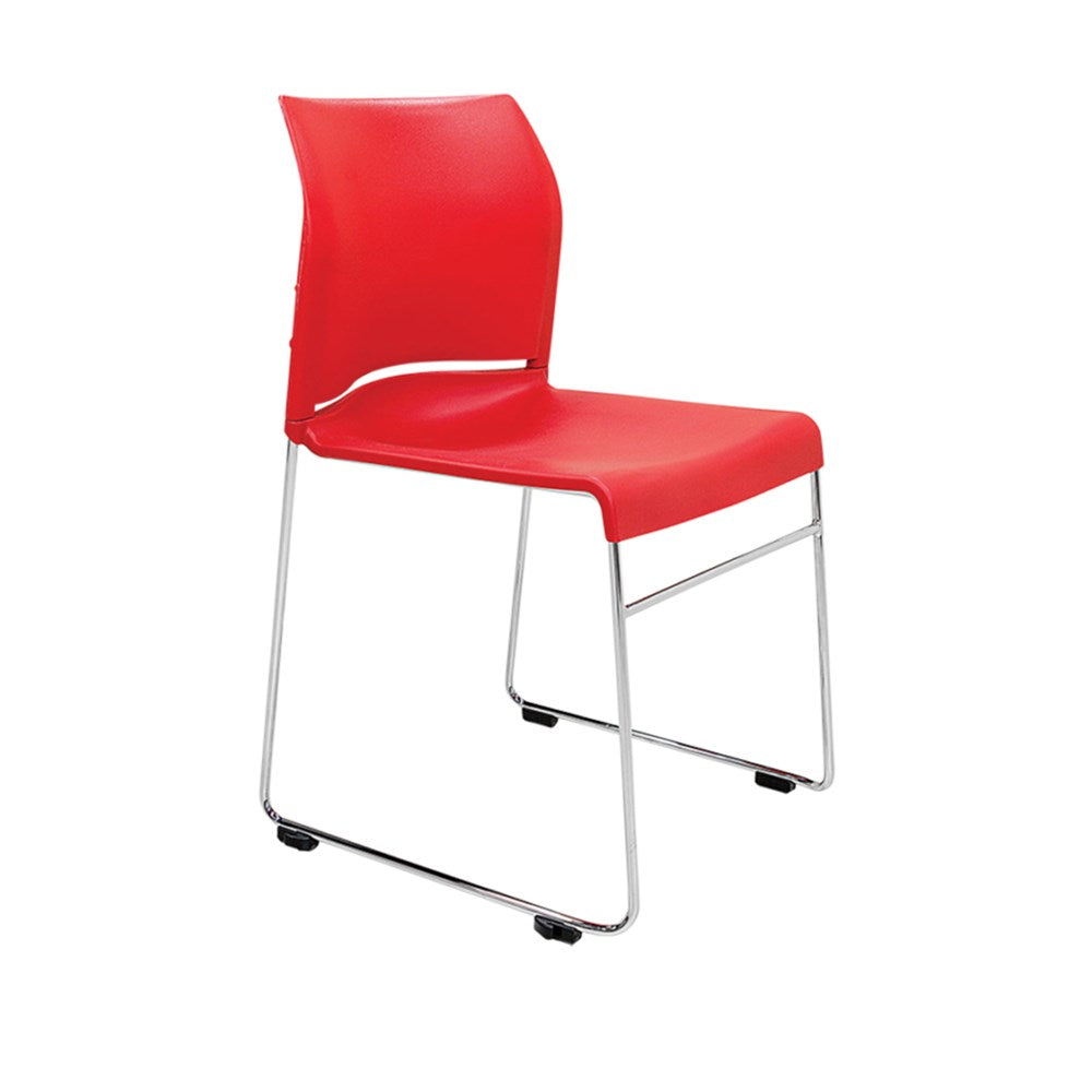 Buro Envy Chrome Sled Chair
