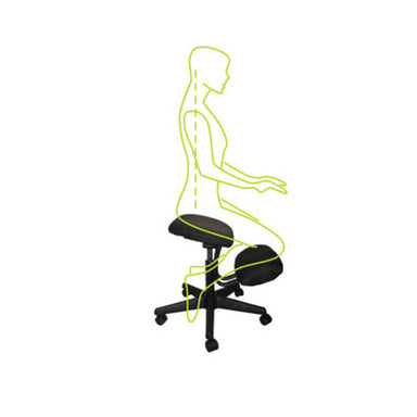 buro knee chair graphic