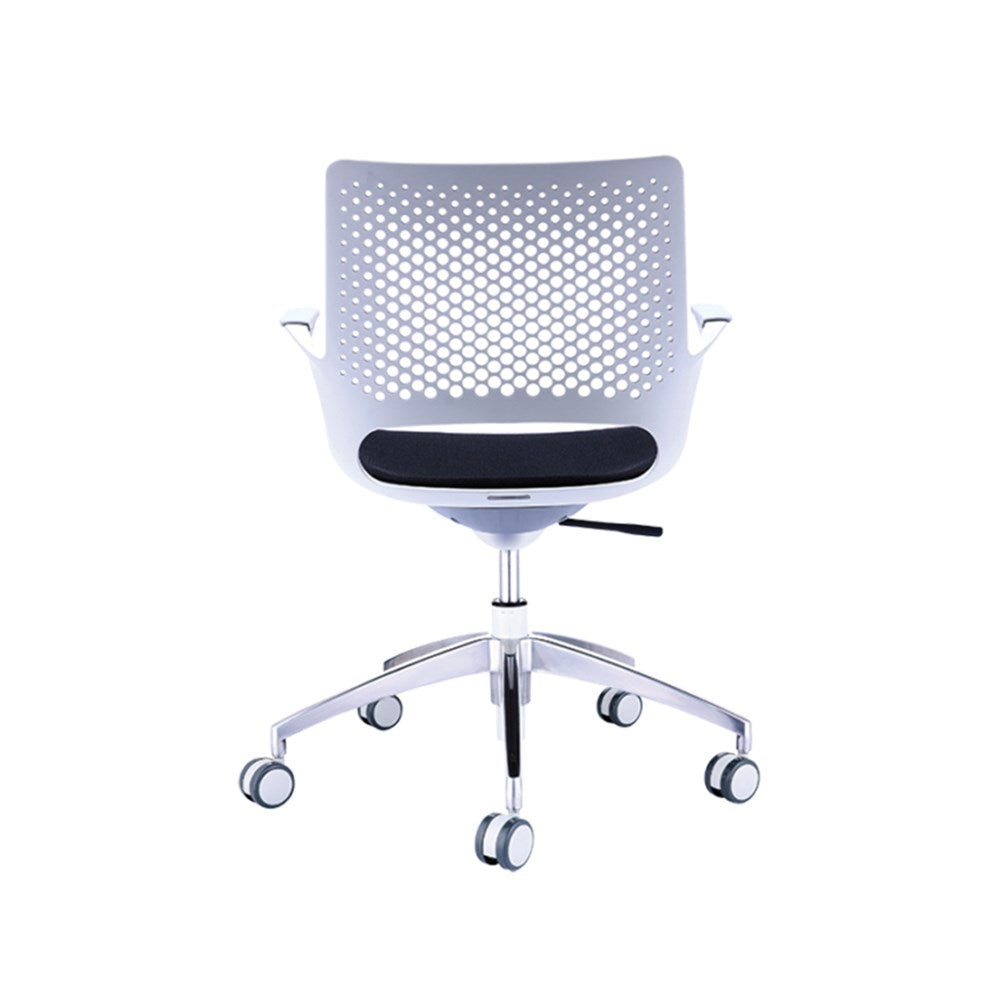 Konfurb Harmony Meeting Chair in Light Grey