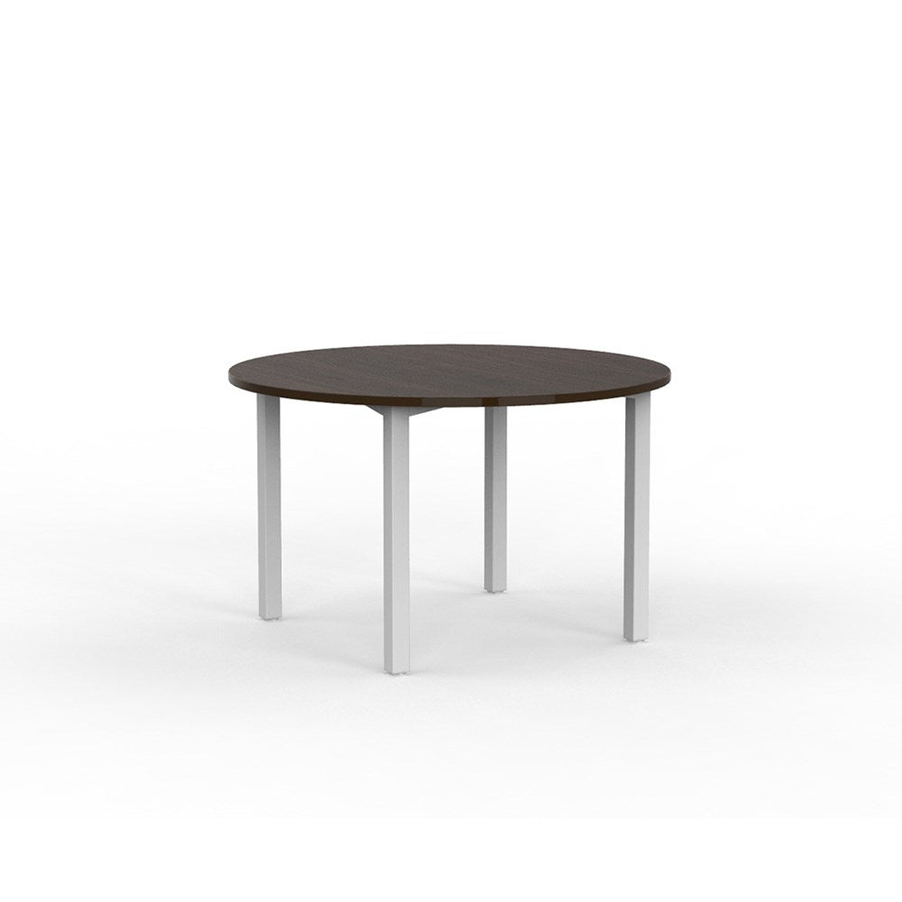 Cubit White 1200 Round Meeting Table