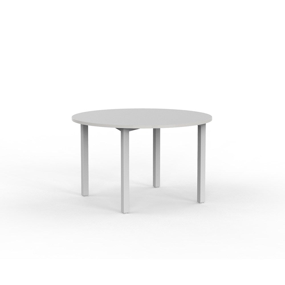 Cubit Silver 1200 Round Meeting Table