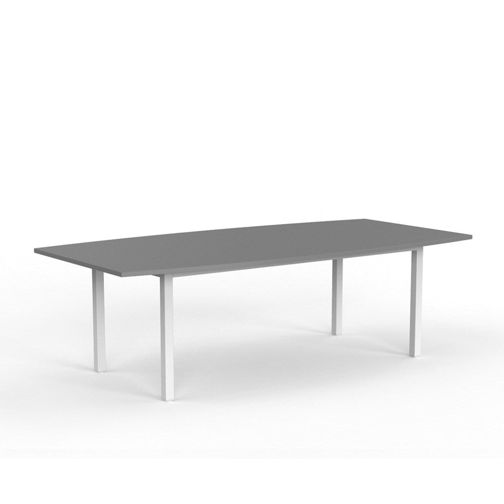 Cubit White 2400 Boardroom Table