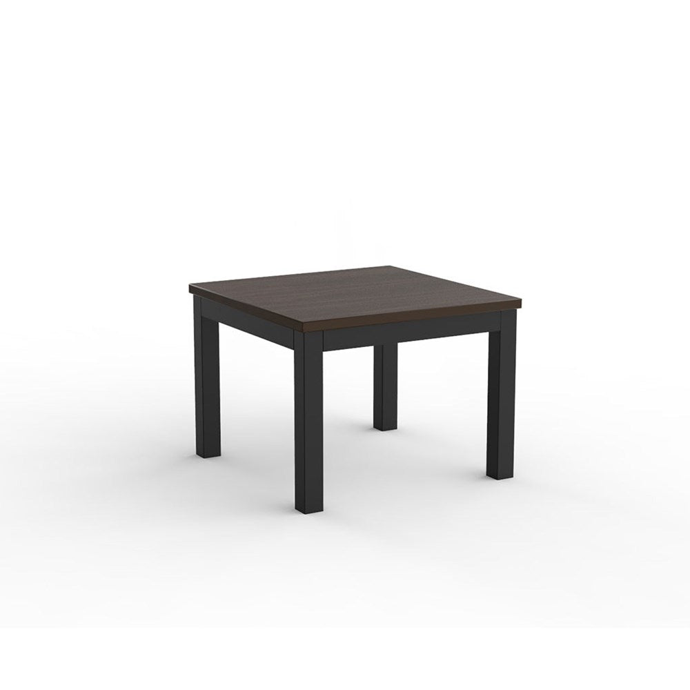 Cubit Black 600 Square Coffee Table