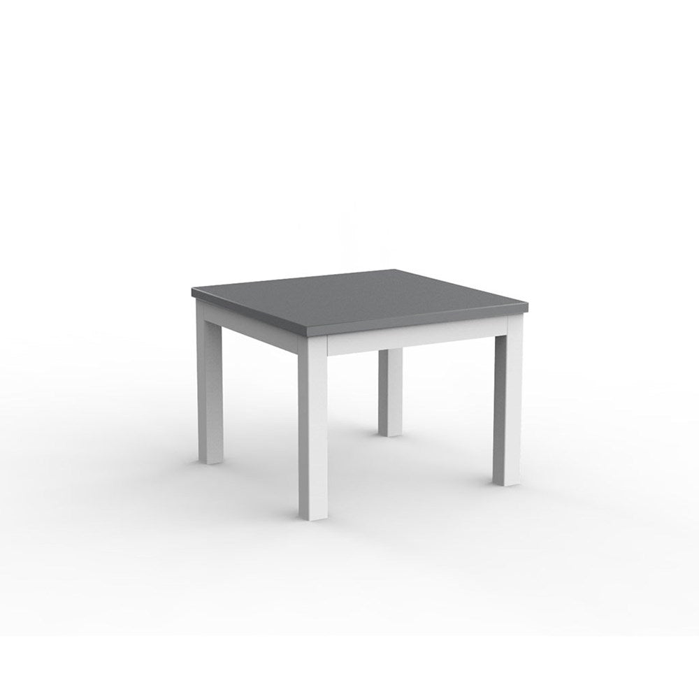 Cubit White 600 Square Coffee Table