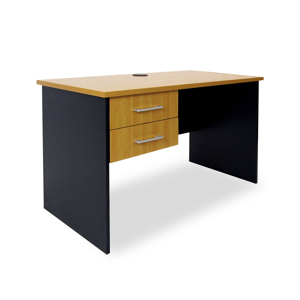 Mobel Delta 1200 Straight Desk with Drawers