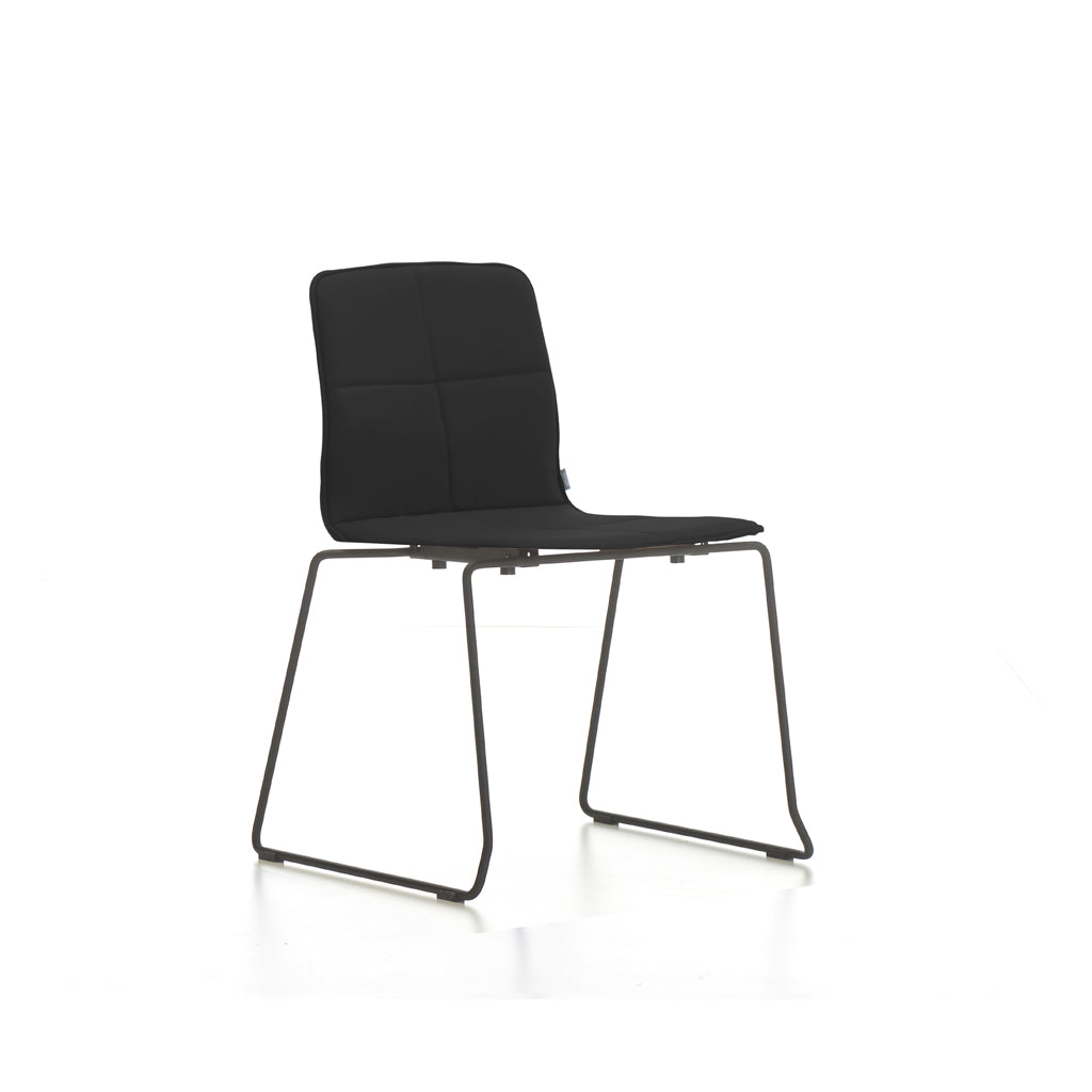 Mobel Eon Chair with Black Sled Base