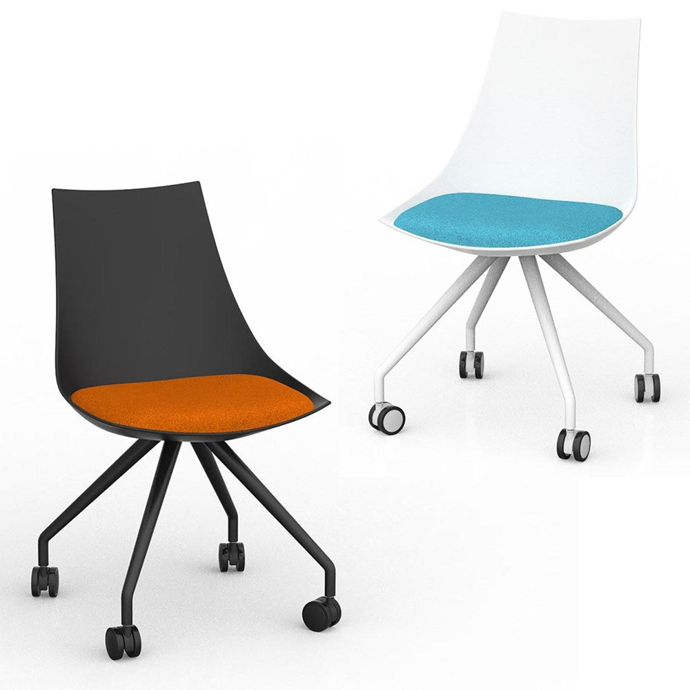 Luna Mobile Visitor Chair