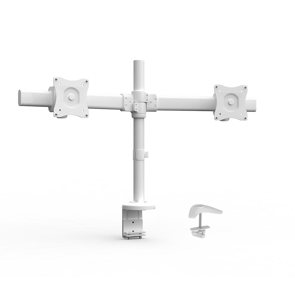 Desk-Mount Dual Monitor Arm