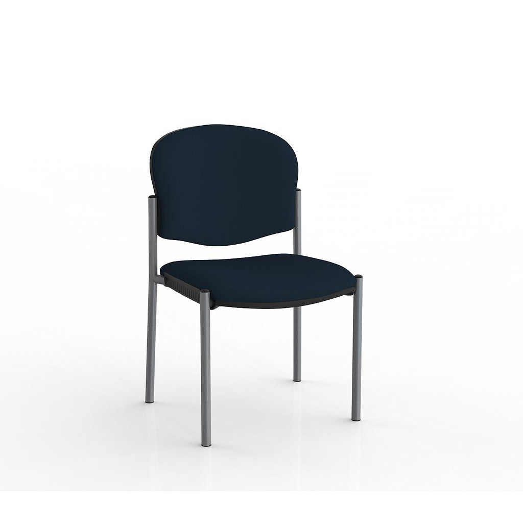 Raz Stacker Silver Frame Visitor Chair