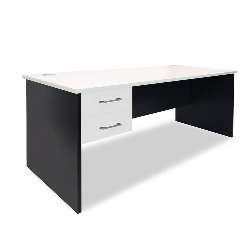 Mobel Sonic 1800 Straight Desk with Drawers