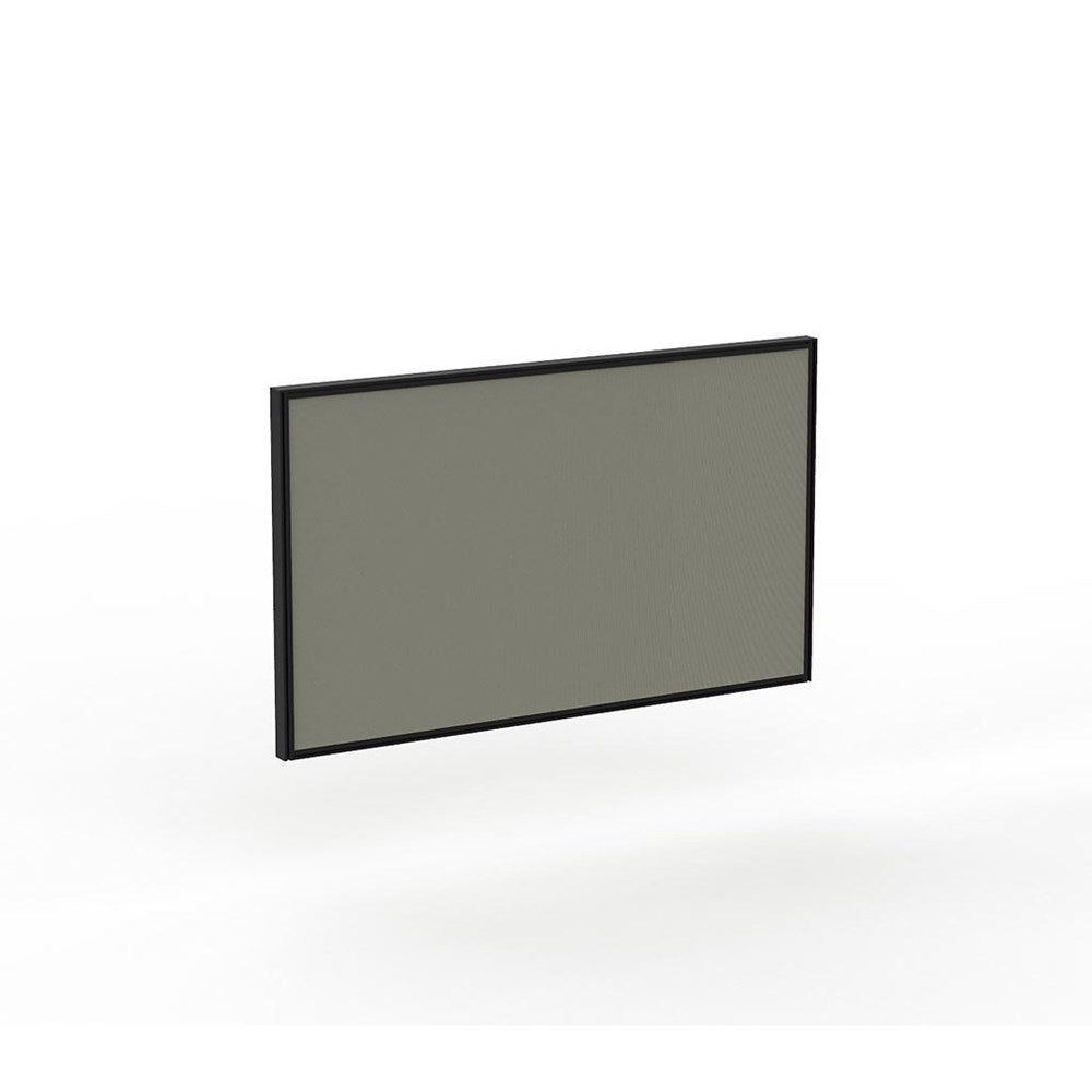 Studio50 Desk Hung Screen 1500w x 900h Black Frame