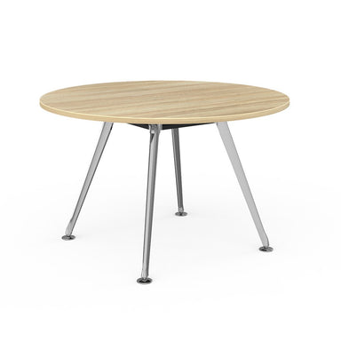 Team Round Table 1200 Polished Alloy Base