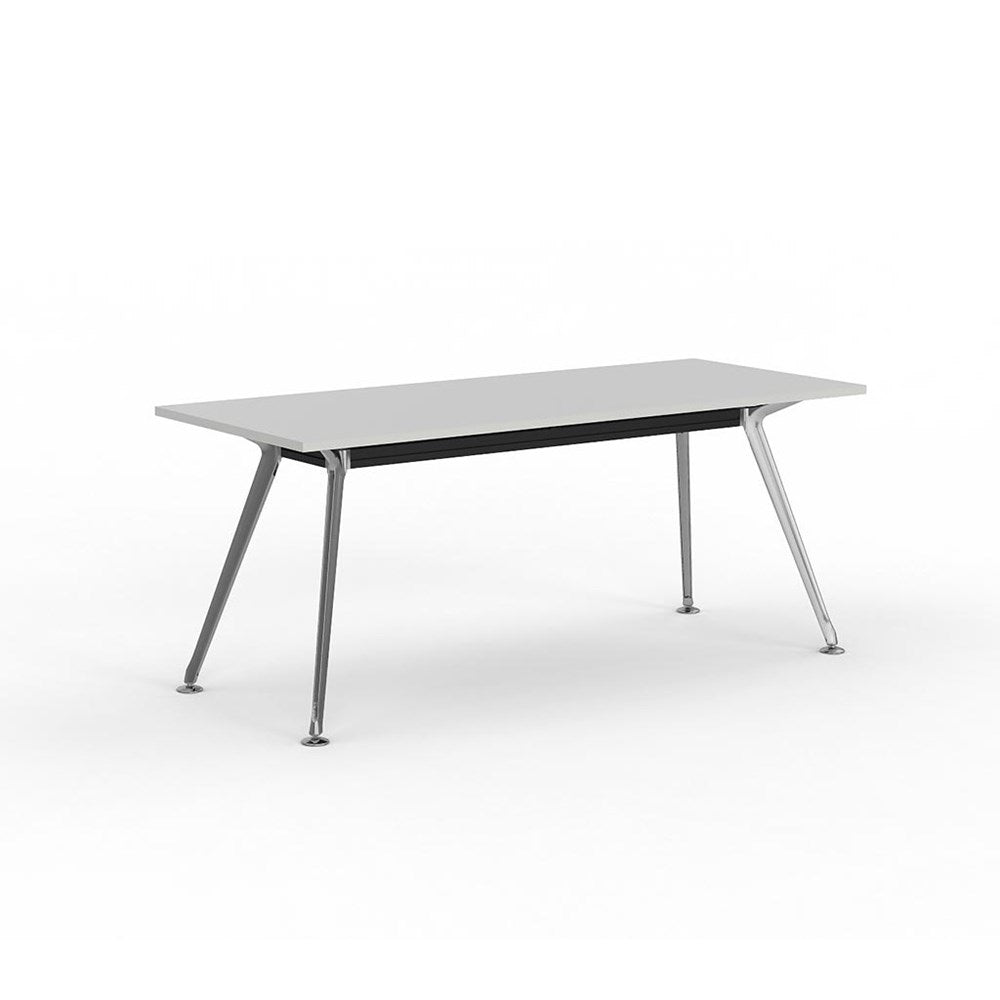 Team Rectangle Table 1800 Polished Alloy Frame
