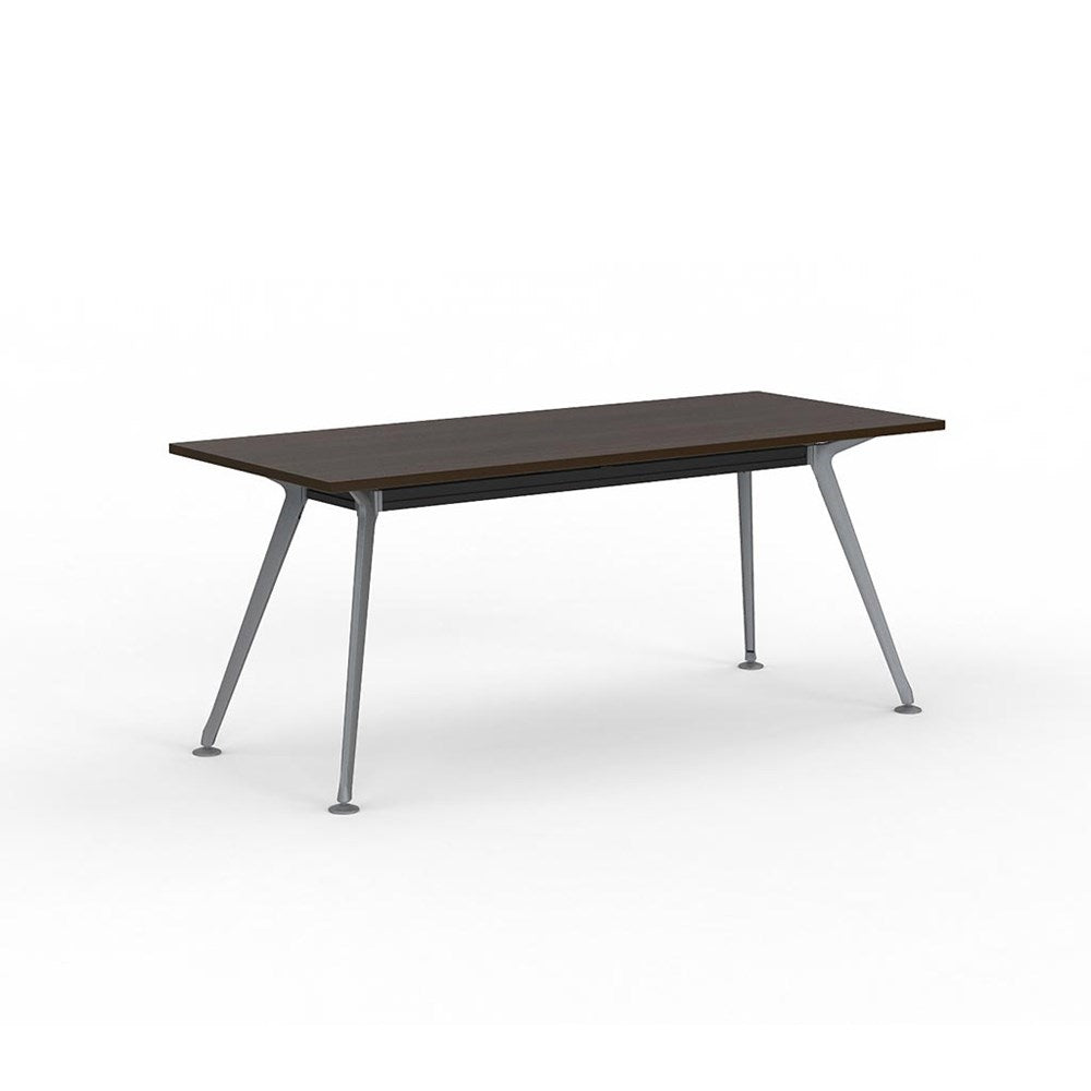 Team Rectangle Table 1800 Silver Frame
