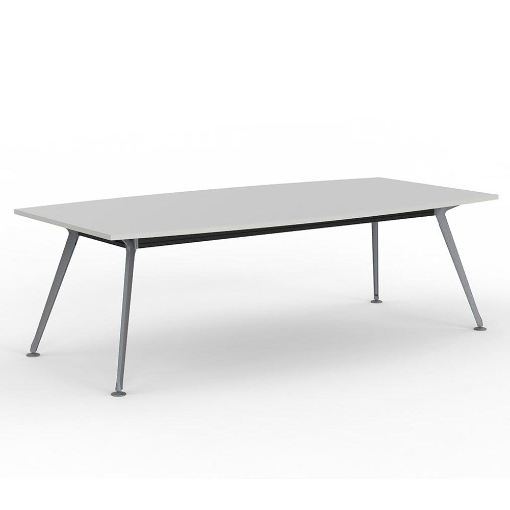 Team Rectangle Table 2400 Silver Frame