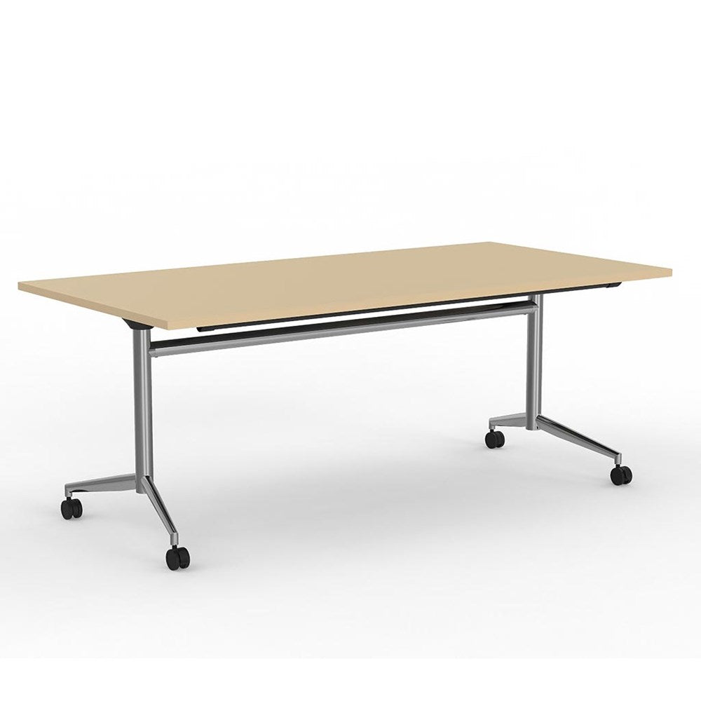 Team Flip Table 1800 Chrome Base