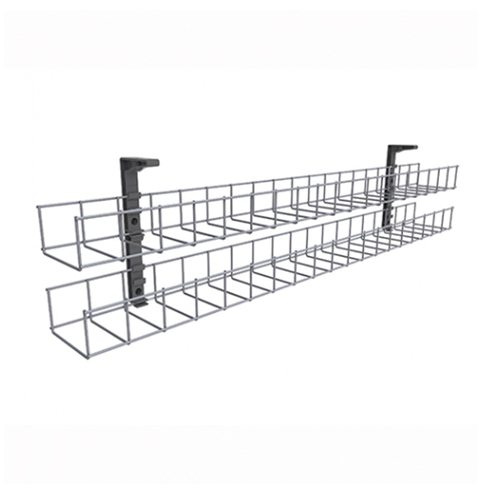 Wire Tray Double Tier 950w for 1200 Desk