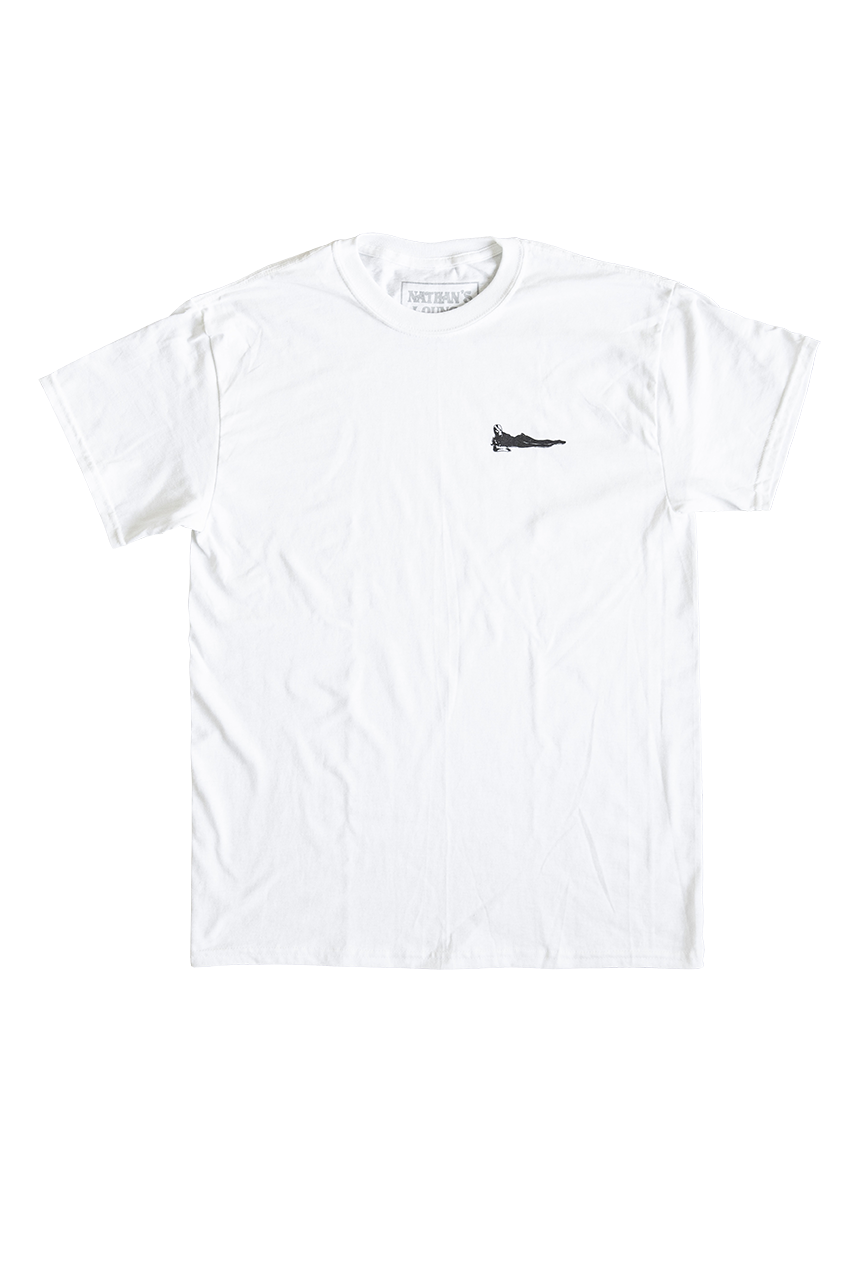 Classic Nathan's Lounge T White