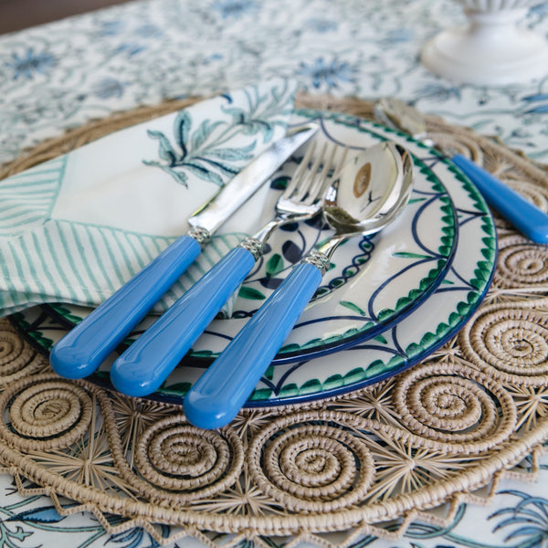 Helios 4 piece cutlery set ~ Sky Blue