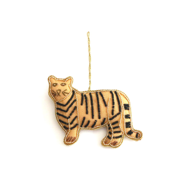 Christmas Tree Ornaments ~ Tiger