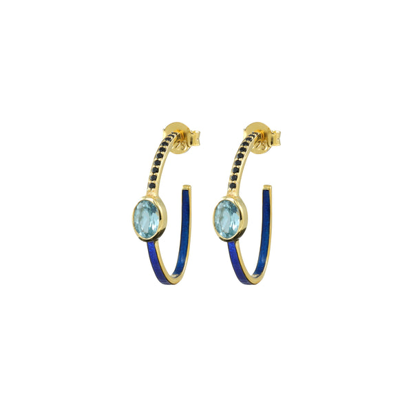 Deepa Hoop Earrings ~ various colours