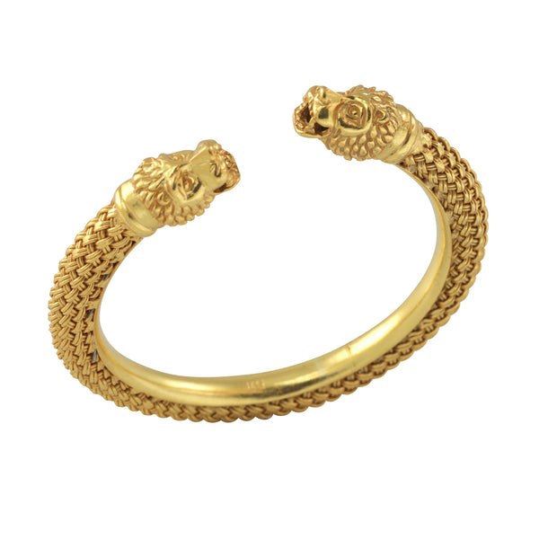 Ishani Lion Bangle