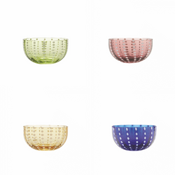 Handblown Perle Bowls (Various Colours)