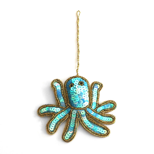 Christmas Tree Ornaments ~ Octopus